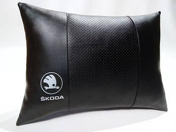 Подушка ортопедическая в автомобиль Подушка для водителя Подушка в авто Авто подарок в Шкода