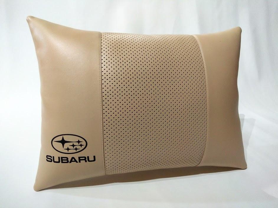 Подушка ортопедична в автомобіль Подушка для водія Подушка в авто Авто в подарунок Субару