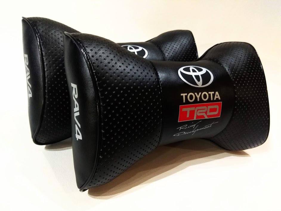 Подушка на підголовник Toyota Подушки з логотипом Тойота Подушки в авто Тойота Подарунок в авто Тойота