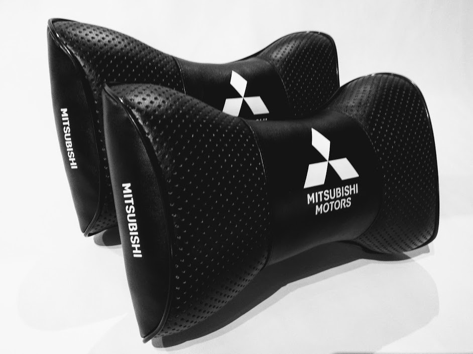 Зручна автомобільна подушка Подушка на підголовник авто Подушка на підголівник автомобіля MITSUBISHI