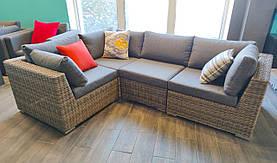 Комплект садовой мебели JENNY: модульный диван