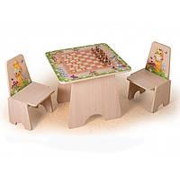 """Детский стол для игры в """"Шахматы"""""""