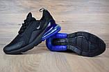 Кросівки чоловічі розпродаж АКЦІЯ 750 грн Nike Air Max 270 42й(26,5 см) копія люкс, фото 2