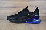 Кросівки чоловічі розпродаж АКЦІЯ 750 грн Nike Air Max 270 42й(26,5 см) копія люкс, фото 4