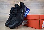 Кросівки чоловічі розпродаж АКЦІЯ 750 грн Nike Air Max 270 42й(26,5 см) копія люкс, фото 6