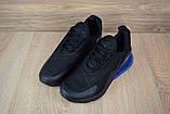 Кросівки чоловічі розпродаж АКЦІЯ 750 грн Nike Air Max 270 42й(26,5 см) копія люкс, фото 7