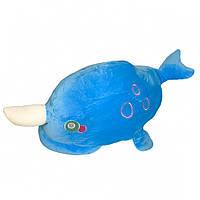 Игрушка плед трансформер 3 в 1 Happy Toys микрофибра,29298, дельфин, фото 1