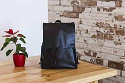 Рюкзак шкіряний LR-05 Чорна