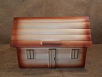 Хлебница-домик