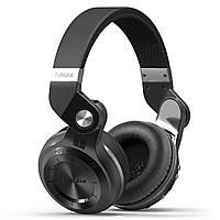 Bluetooth гарнитура Bluedio T2 Plus Black беспроводная стерео блютуз 4.1 подключение к смартфону планшету