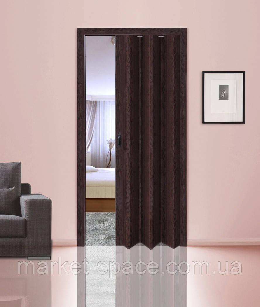 Дверь гармошкой глухая. Цвет: №7103 2030мм/810мм/6мм