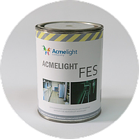 Фотолюминесцентная краска Acmelight FES для систем пожарной безопасности 1 л