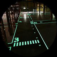 Фотолюминесцентная краска Acmelight FES для систем пожарной безопасности 2,5 л