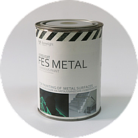 Люминесцентная краска Acmelight FES Metal для систем пожарной безопасности 1,5 л