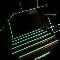 Люминесцентная краска Acmelight FES Metal для систем пожарной безопасности 3 л