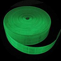 Лента светоотражающая фотолюминесцентная шириной 5 см, рулон 50 м / 1 м