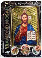 Алмазная живопись мозаика по номерам на холсте 20*30см DankoToys DT DM-02-05 Икона Иисус