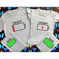Family Look для всієї родини.Футболки для родини,на фотосесію,парні футболки для родини