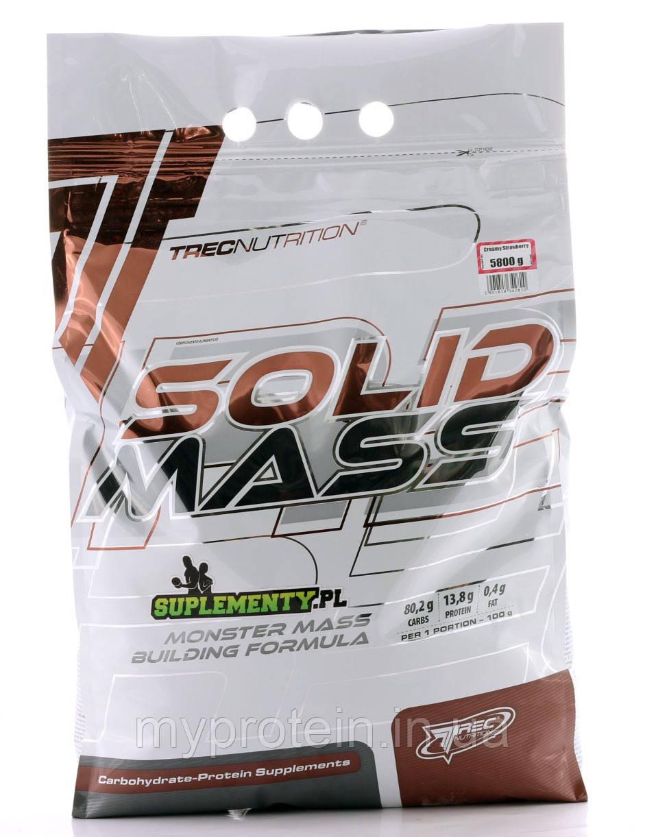 TREC nutrition Гейнер Solid Mass (1 kg )