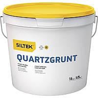 Краска-грунт контактная SILTEK QUARTZGRUNT, 10л
