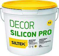Штукатурка декоративная силеконовая 1,5мм DECOR SILICON PRO «КАМЕШКОВАЯ», база DА (25 кг)