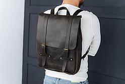 Рюкзак шкіряний LR-06 Коричневий