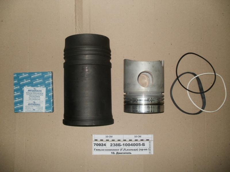 Гильзо-комплект (Г,П,кольца) (пр-во ЯМЗ) с нирезист.вставкой 238Б-1004005-Б