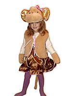 Карнавальный костюм обезьянка для девочек.