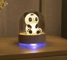 Детский ночник Панда с аромалампой, меняет цвета