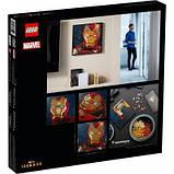 Конструктор LEGO Art Залізна Людина Marvel Studio, фото 8