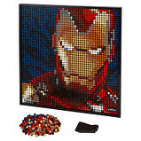 Конструктор LEGO Art Залізна Людина Marvel Studio, фото 7