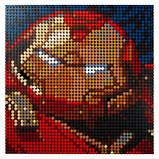 Конструктор LEGO Art Залізна Людина Marvel Studio, фото 5