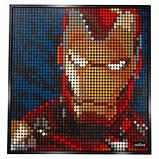 Конструктор LEGO Art Залізна Людина Marvel Studio, фото 6