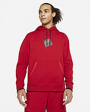 Толстовка Jordan Jumpman Classic men's Printed Fleece CV2244-687 Червоний