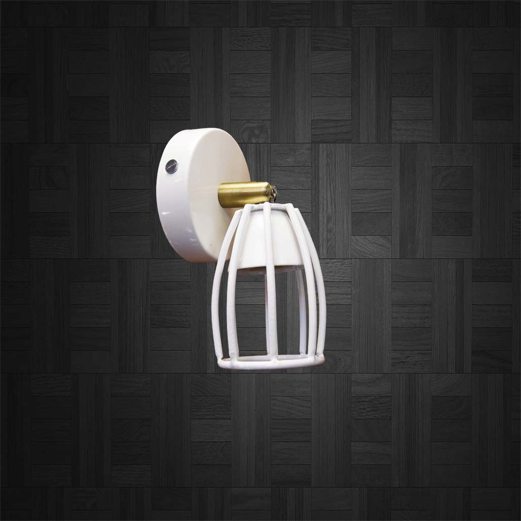 Спот поворотный на 1-лампу CUP  GU10 белый бра
