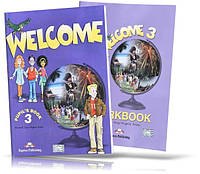 Welcome 3, Pupil's book + Workbook / Учебник + Тетрадь английского языка