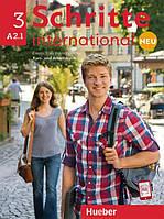 Schritte international Neu A2.1, Kursbuch + Arbeitsbuch + CD / Учебник + Тетрадь с диском немецкого языка