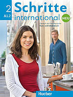 Schritte international Neu A1.2, Kursbuch + Arbeitsbuch + CD / Учебник + Тетрадь с диском немецкого языка