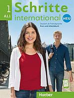 Schritte international Neu A1.1, Kursbuch + Arbeitsbuch + CD / Учебник + Тетрадь с диском немецкого языка