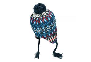 """Акриловая шапка, флисовая подкладка """"Peru Callao"""" 10042A, фото 2"""