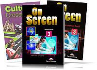 On Screen 3, Student's book + Workbook / Учебник + Cultural Crossroads Ukraine