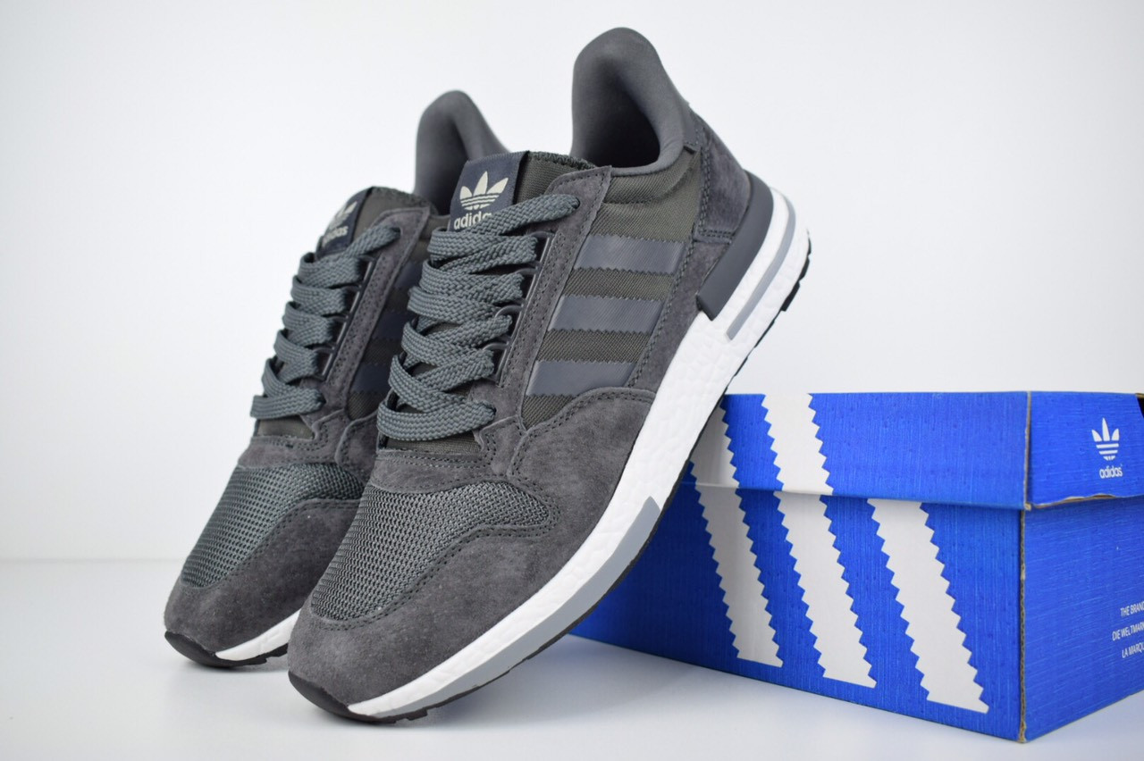 Кросівки чоловічі розпродаж АКЦІЯ 750 грн Adidas ZX 500 44й(28см) копія люкс