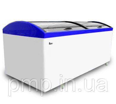 Морозильний лар з гнутим склом Juka М1000 V