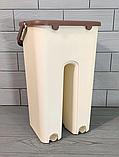 Комплект швабра с ведром с автоматическим отжимом Чудо швабра лентяйка для уборки Flat Mop, фото 2