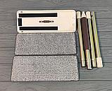 Комплект швабра с ведром с автоматическим отжимом Чудо швабра лентяйка для уборки Flat Mop, фото 3