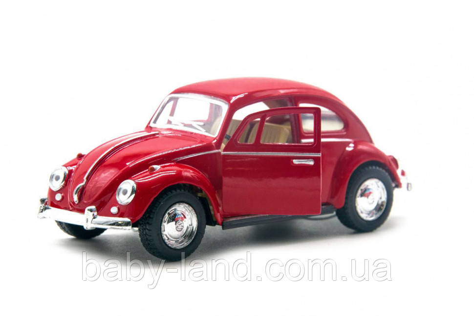 Модель легковая 5'' KT5057W (Red)