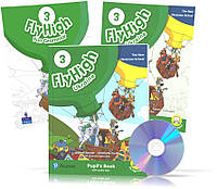 Fly High 3 UKRAINE edition, Pupil's book + Activity Book + CD + FUN GRAMMAR
