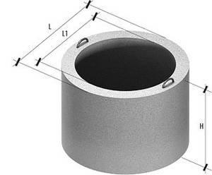 Бетонні кільця для колодязів і каналізації КС 15.6