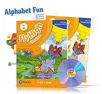 Fly High 1 New Ukrainian School, Pupil's book + Activity Book + CDs + Alphabet Fun