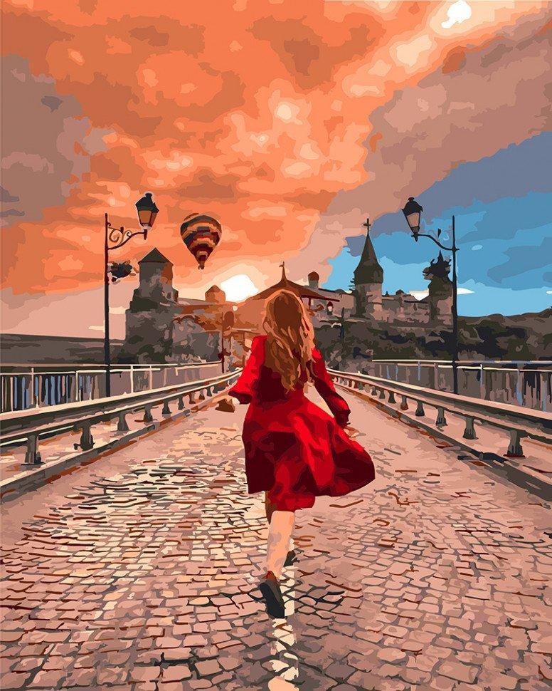 "Картина по номерам. Brushme ""Замок Камянец-Подольска"" GX25454"
